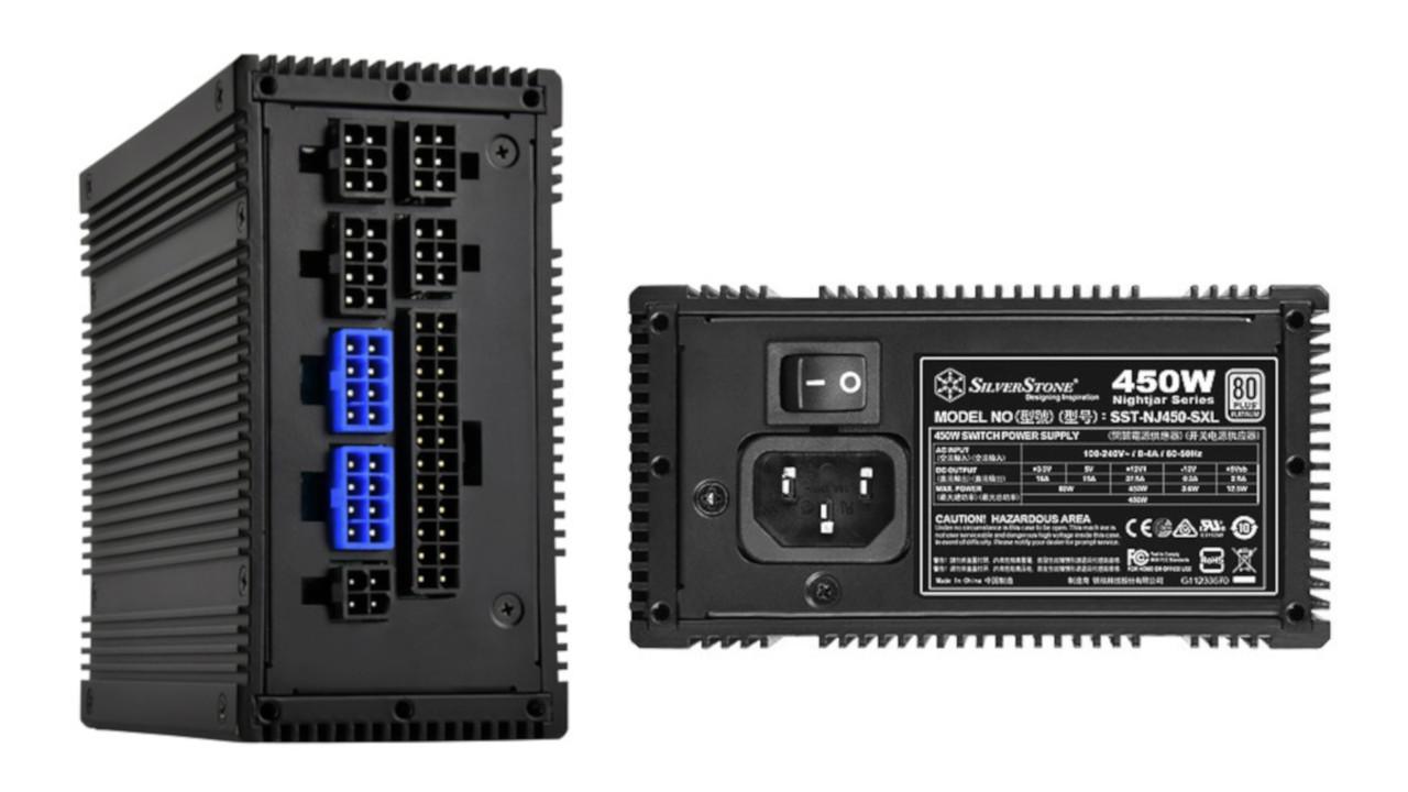 SilverStone, alimentatore privo di ventola Nightjar NJ450-SXL: passivo e 100% modulare