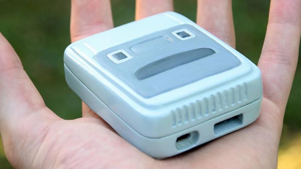 SNES Micro: il SuperNES più piccolo al mondo grazie a Raspberry Pi Zero