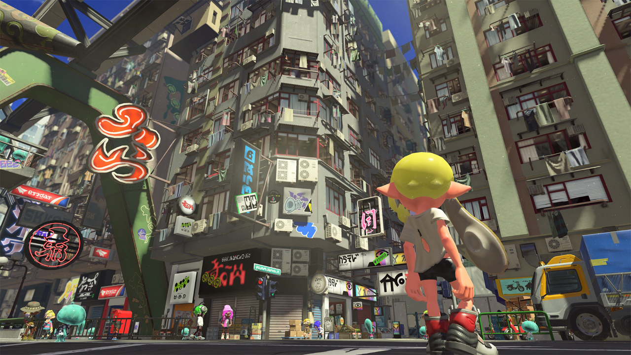 Nintendo Switch: Splatoon 3, The Legend  …