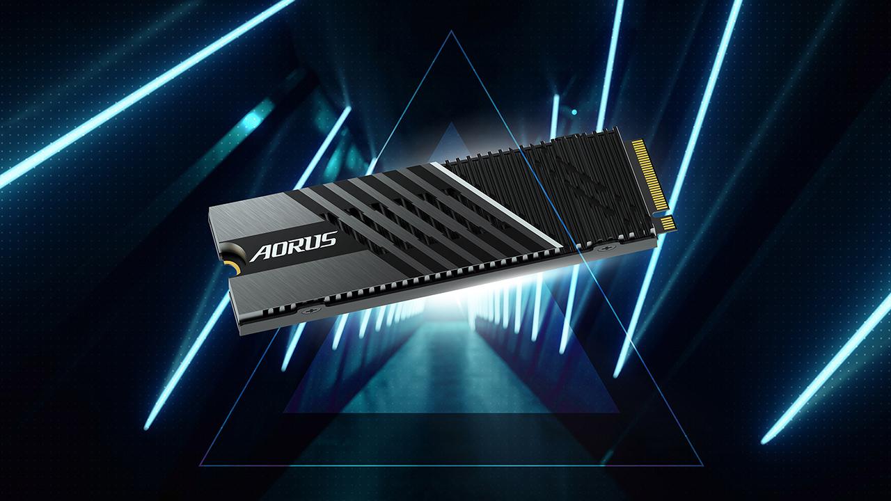 Aorus Gen4 7000s, i nuovi SSD PCI Expres …