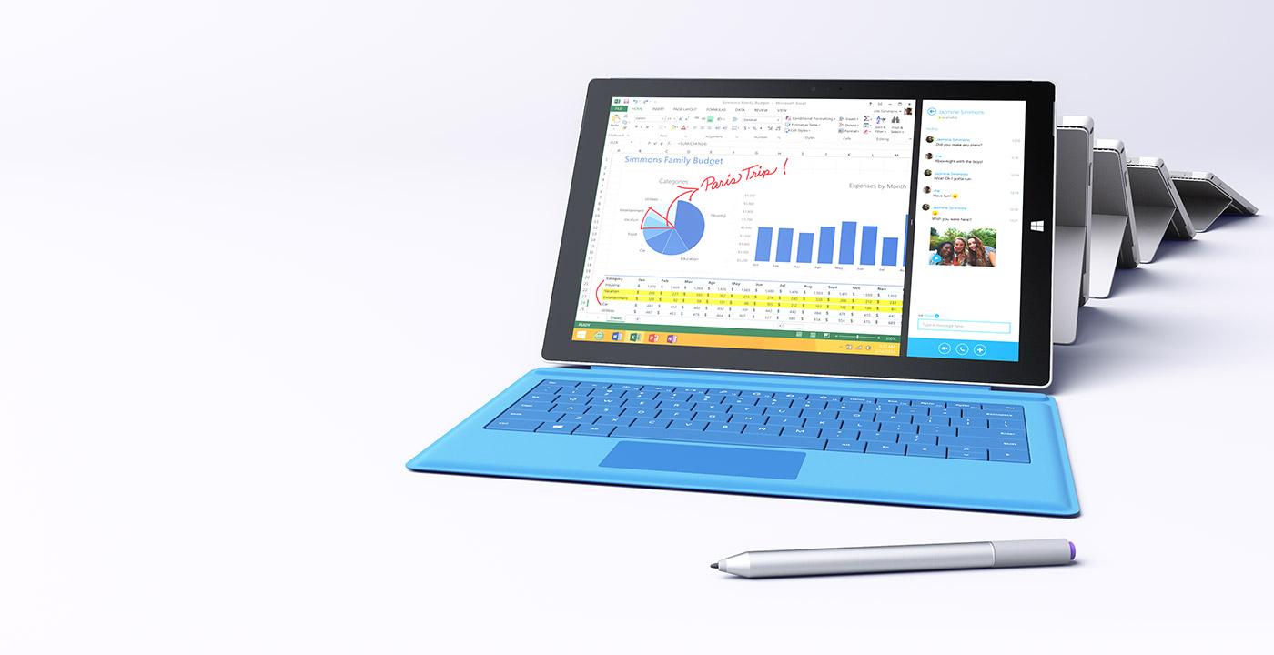 Surface Pro 3: disponibile la patch per la batteria