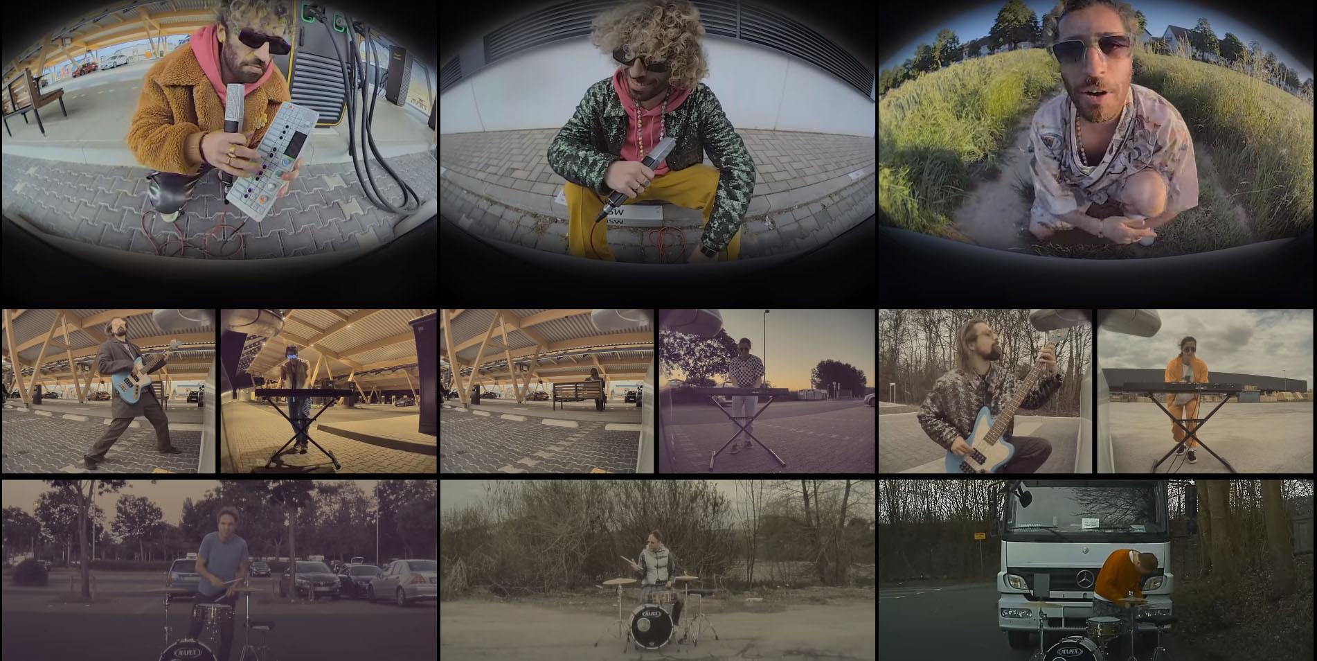 Un video musicale creato con la Modalit� …