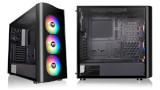 Thermaltake, case View 23: mid-tower con frontale trasparente ad onda