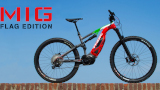 THOK lancia la sua e-bike MIG in versione Flag Edition per celebrare la fine del lockdown