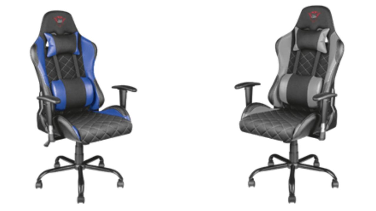 Arrivano nuove sedie da trust gaming hardware upgrade for Sedia trust