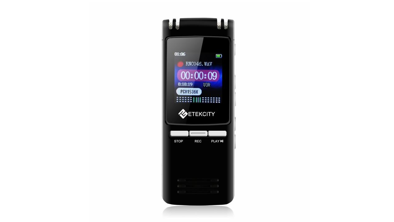 Cerchi un registratore vocale digitale? Le offerte giuste oggi su Amazon