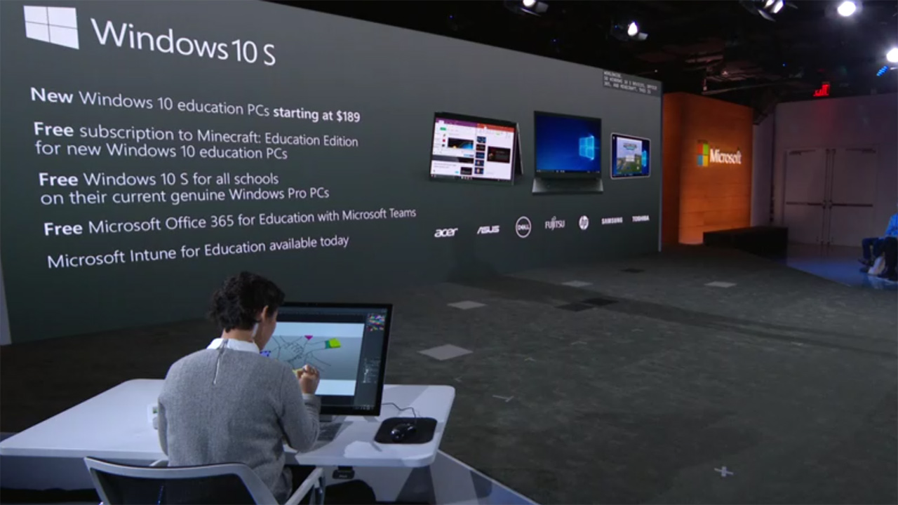 1ecddb769399b Microsoft annuncia Windows 10 S per PC da meno di 200 Euro ...