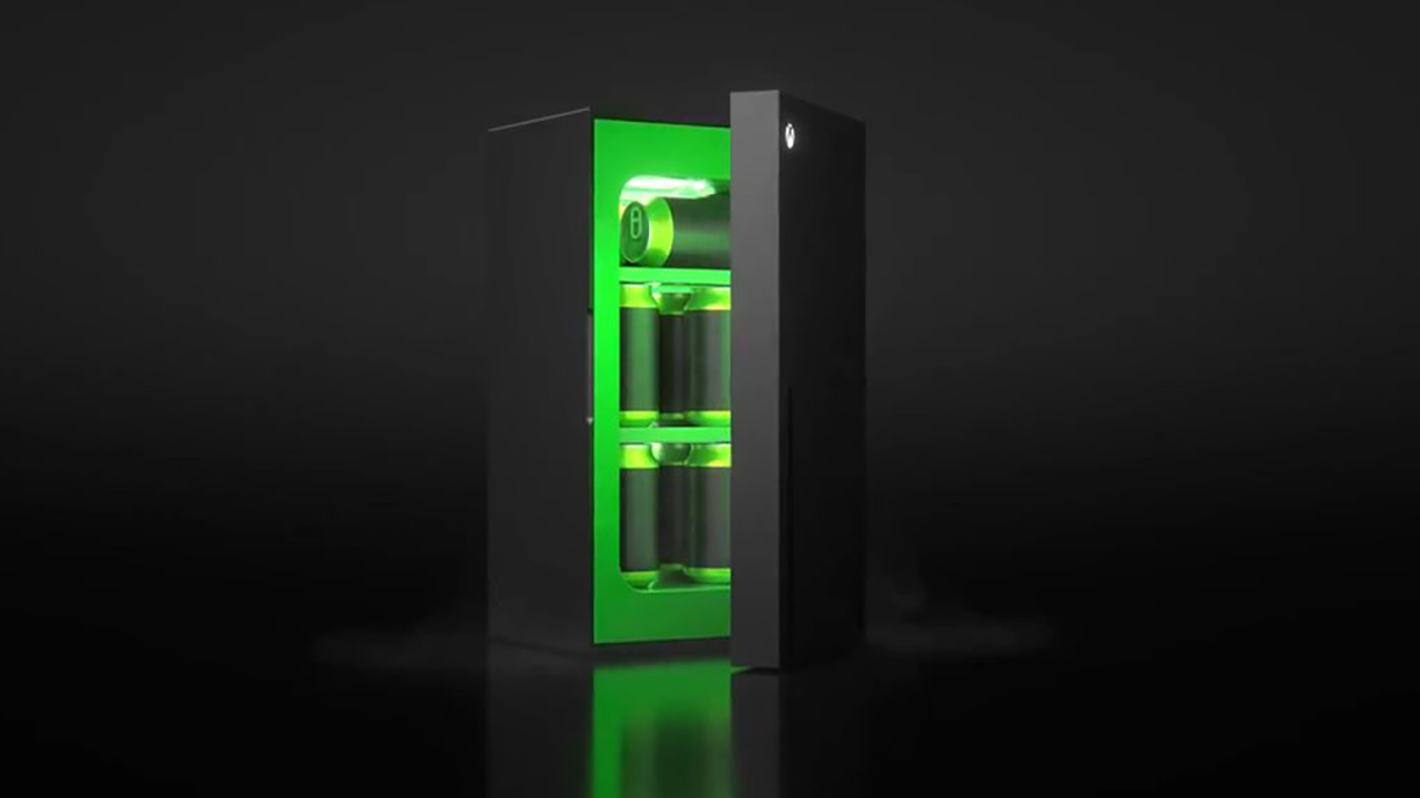 Il mini-frigorifero a forma di Xbox Seri …