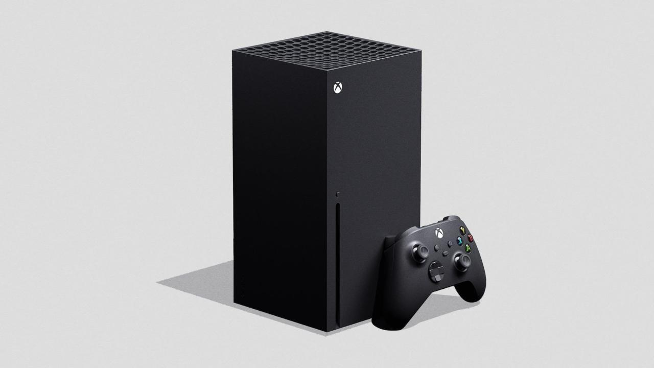 Xbox Series X è la nuova console di Microsoft, rivista nell'estetica