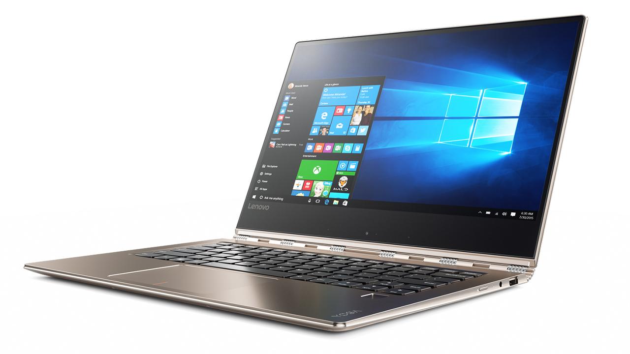 Lenovo lancia Yoga 910 Convertible, notebook con display edge-to-edge Full HD o 4K