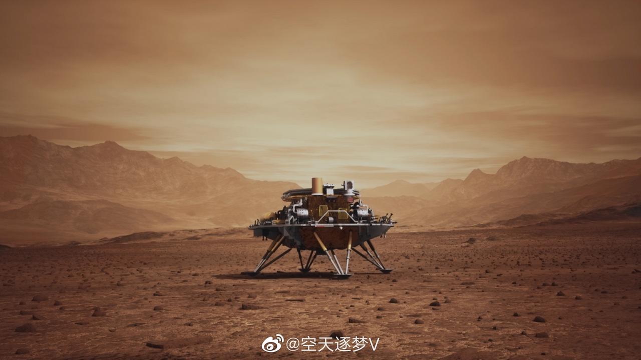Rover Zhurong: La apuesta de China por explorar Marte