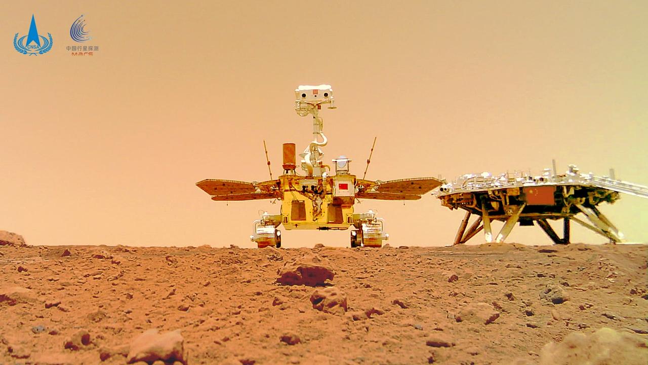 Il rover cinese Zhurong ha percorso oltr …