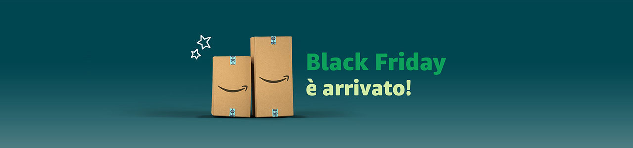 Offerte Amazon Black Friday 2018