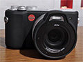 Leica X-U: dal vivo la Leica che va sott'acqua