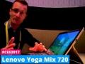 Lenovo Yoga Miix 720 dal vivo al CES di Las Vegas