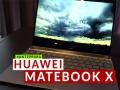 Anteprima Huawei MateBook X