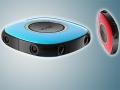 Vuze: la videocamera 360� che fa video in 3D. Eccola dal vivo