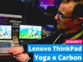 Lenovo ThinkPad X1 Yoga e Carbon dal vivo al CES