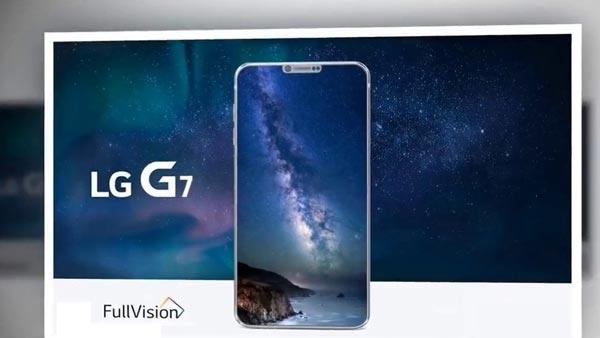 LG G7: Snapdragon 845, iPhone X Style e molto altro