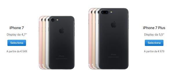 Apple Ecco Tutti I Nuovi Prezzi Degli Iphone 8 E 7 Addio Ad Iphone X Se E 6s Hardware Upgrade