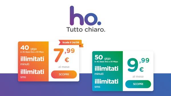Ufficiale la nuova offerta con 50gb di traffico for Offerte mobile