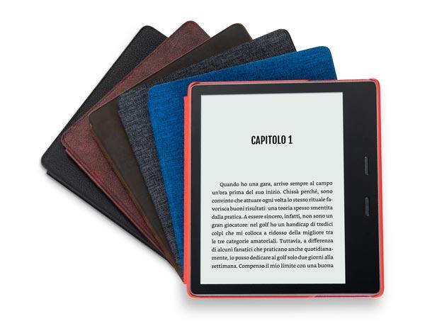a49ac2a17ba6b2 Dunque perché non farlo con il nuovo Kindle Oasis 2019 ossia il top di  gamma della serie Kindle migliorato ancora una volta.