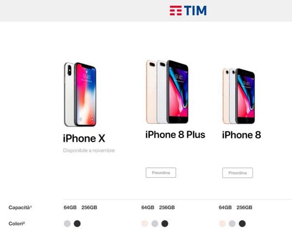 Iphone 8 plus prezzo trony