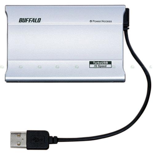 Buffalo Solid State Disk esterno da 100GB e 60 Gr
