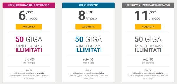 Kena Mobile per tutti: tre promo con 50GB e minuti illimitati. Ecco ...