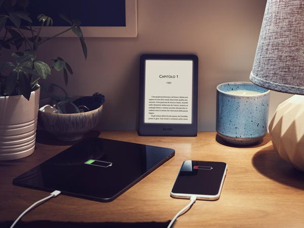Nuovo Kindle, luce anteriore regolabile
