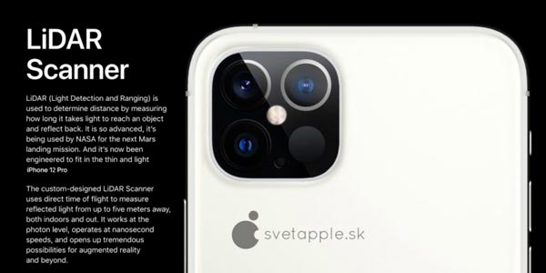 "iPhone جاهز ""لالتقاط"" المستخدمين بكاميرات 230320_LiADRScanner."