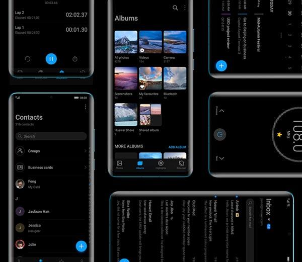 EMUI 10 update smartphone Huawei