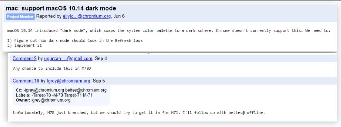 Google Chrome: in arrivo il tema scuro  Ecco quali utenti
