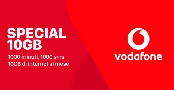 Vodafone Special 7 GB a 7 euro per chi proviene da MVNO