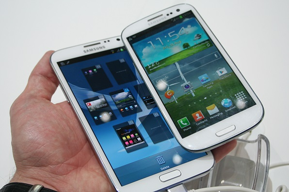 Galaxy Note III display