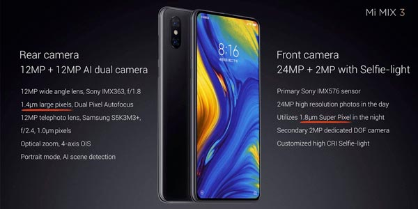 Xiaomi Mi Mix 3 lancio ufficiale