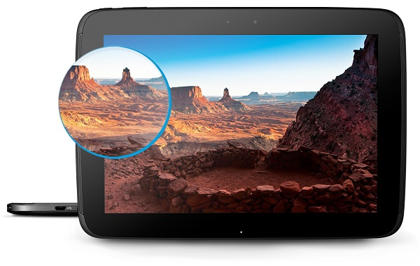 Tablet Android risoluzione 4K