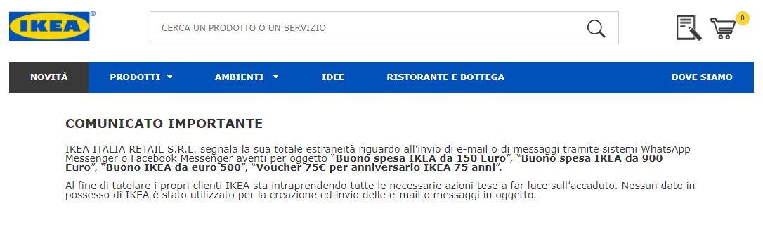Whatsapp Torna La Bufala Del Buono Ikea Da 500 Attenzione