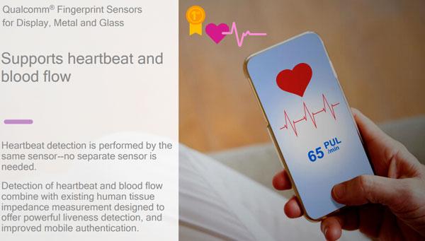 Vivo mostra uno smartphone con lettore di impronte digitali integrato nello schermo