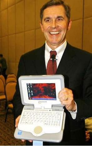 Intel , ecco il concorrente dell'OLPC XO