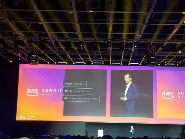 AWS Summit 2019 Milano