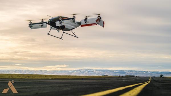 Il taxi volante di Airbus spicca il volo
