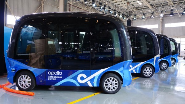 Baidu Apollo sui mini-bus Apolong