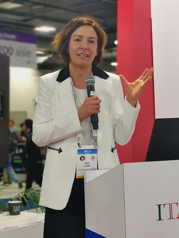 CES 2020 Ministro Carla Pisano