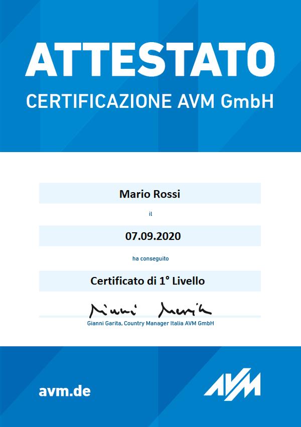 Certificazioni Edge9