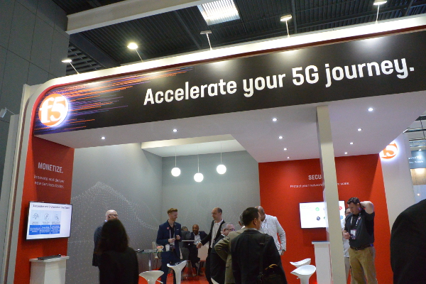 F5 Networks Stand MCV2019