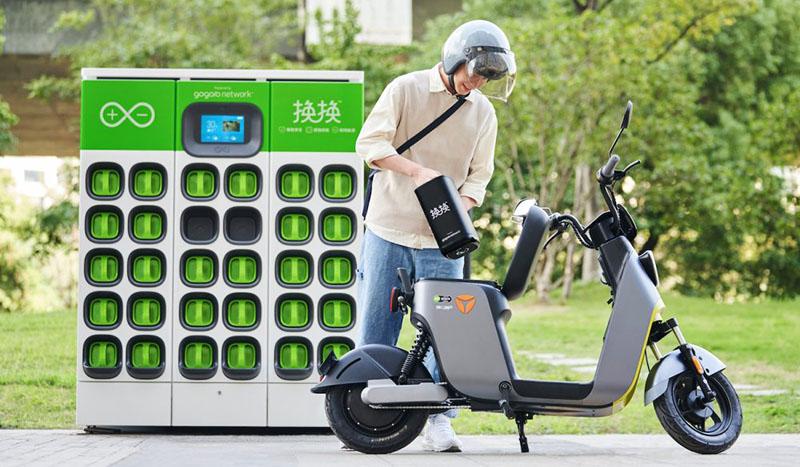 Gogoro Swap Battery