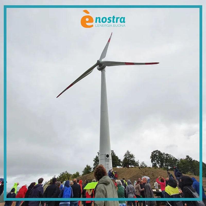 Turbina eolica collettiva di Gubbio
