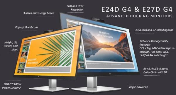 HP E24d G4 e HP E27d G4