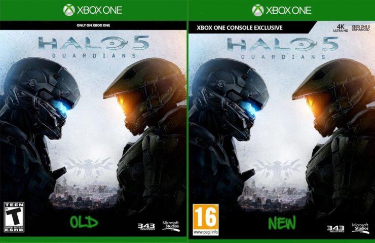 Nuova copertina per Halo 5